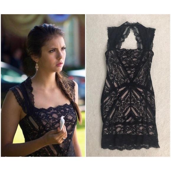 ec8df5f661d Nicole Miller Eva Lace Dress ASO Elena Gilbert TVD.  M 5c63a22ef63eea281ab71c16